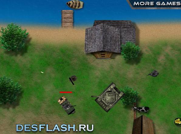 Игра танки-стрелялки онлайн