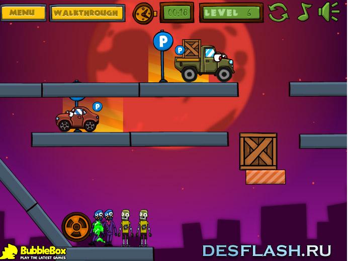 Машины против зомби играть