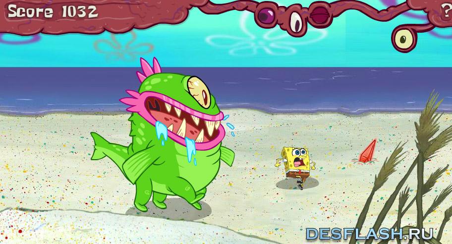 Губка Боб: остров монстров