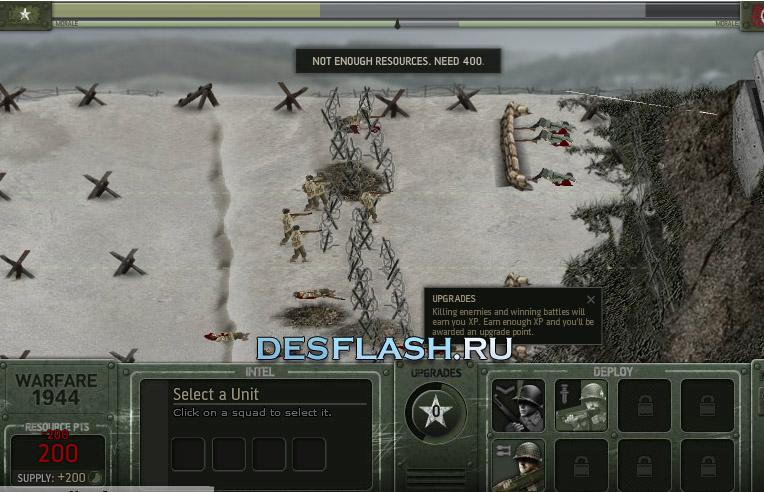 Война 1944 флеш игра