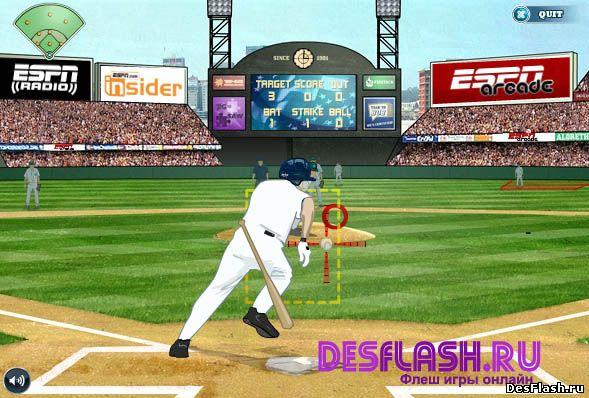 Аркадный бейсбол игра. ESPN Arcade Baseball