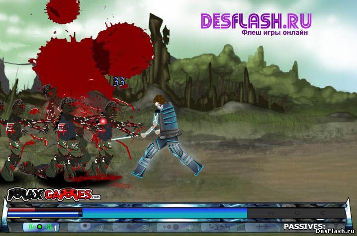 Флеш игра Убивать роботов