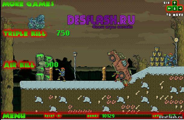 Зомбиленд онлайн игра. Across Zombieland