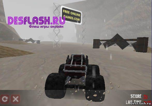 Ралли на грузовике: Monster Truck Rally