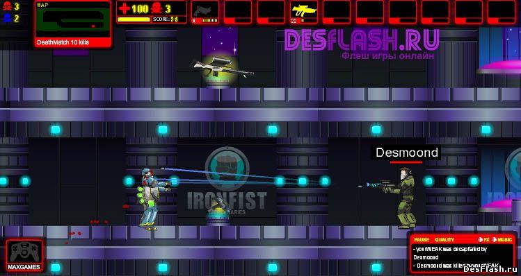 Unreal Flash 3 играть