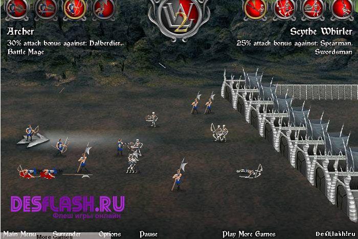 Варлорды 2: Восстание демонов игра