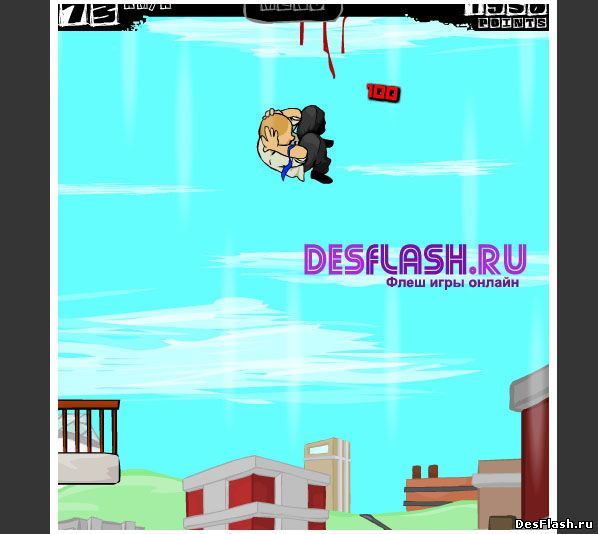 Флеш игра Смертельный прыжок 4. Cubikill 4