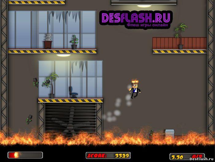 Флеш игра Источник огня. Fire Starter