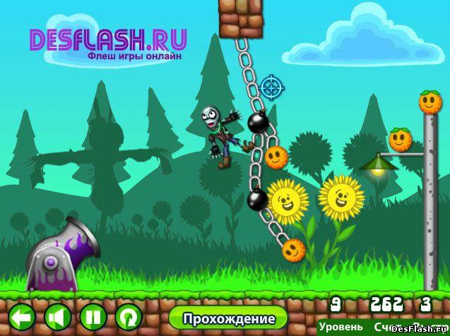 Запуск зомби игра. Zombie Launcher
