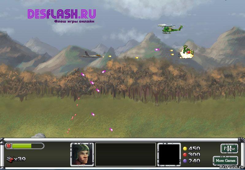 Игры стрелялки военные играть