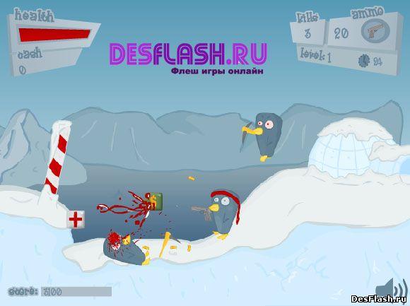 Играть в Penguinz