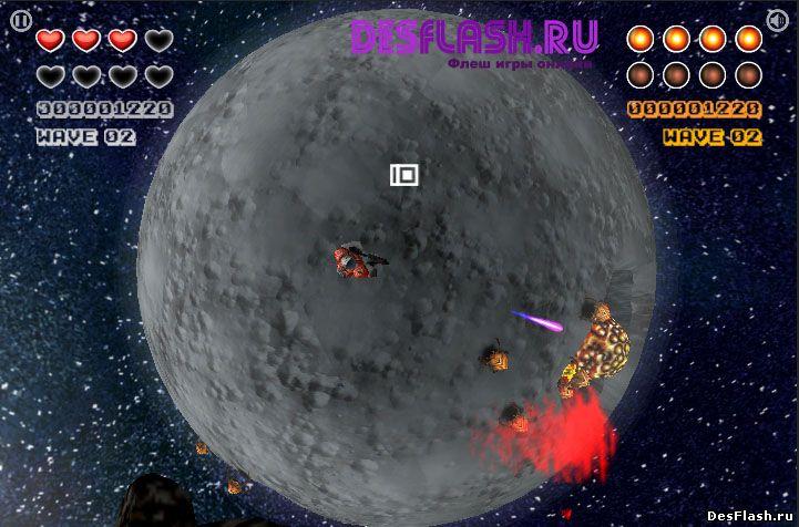 Игра в космосе онлайн
