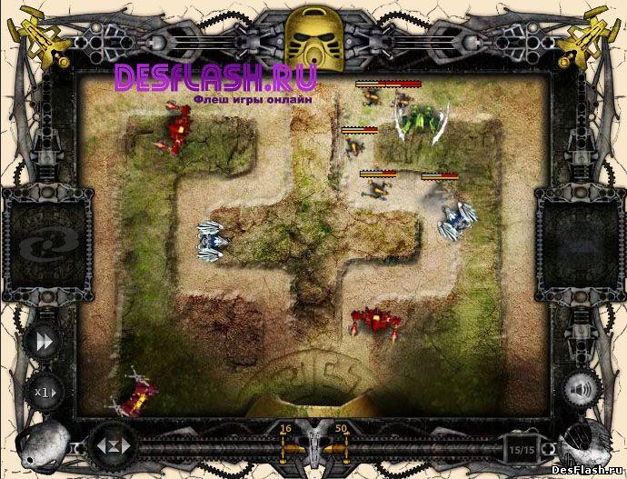 Игра BIONICLE: Agori Defender