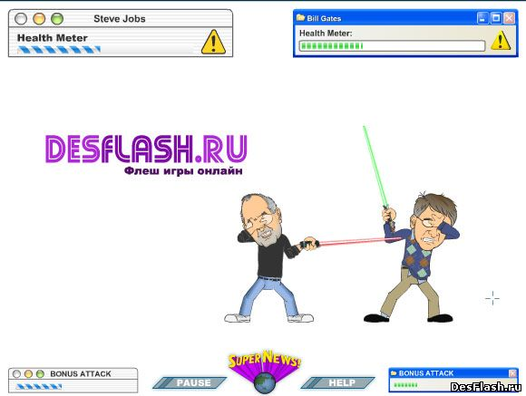 Стив Джобс vs Билл Гейтс
