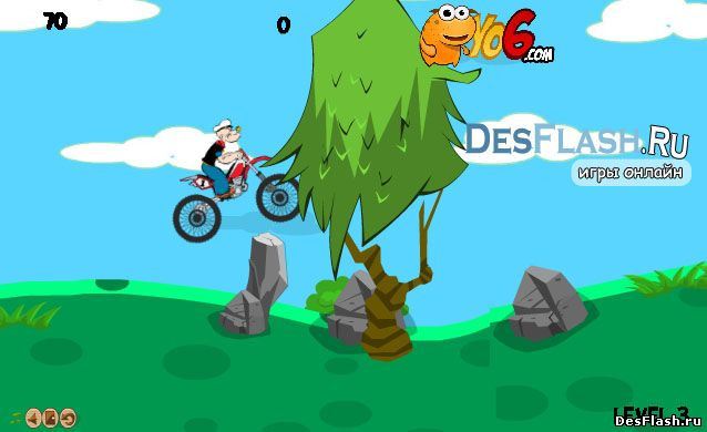 Гонки с Папаем. Popeye Bike