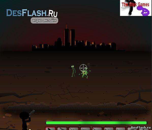 Игры сбивать зомби онлайн