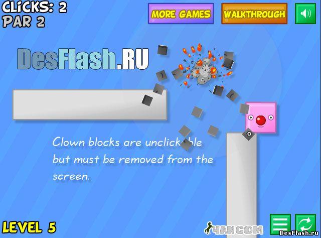 Играть в Blockoomz!