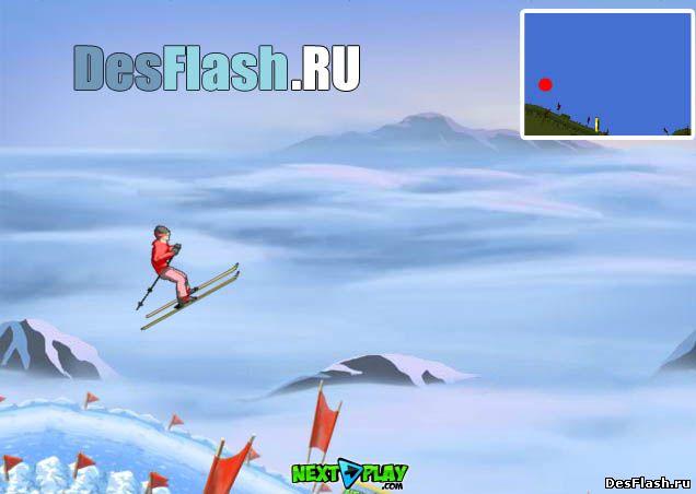 Гонки на лыжах играть