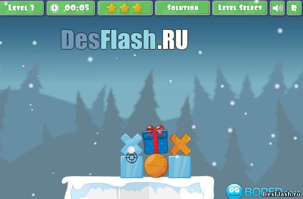 Осада снеговика. Snowman Siege