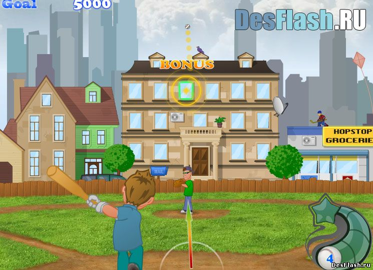 Бейсбол играть онлайн