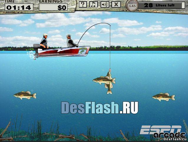 Игра онлайн Русская рыбалка играть