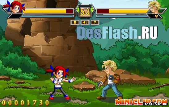 Аниме драки игры онлайн