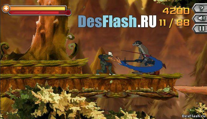 Флеш игры онлайн драки