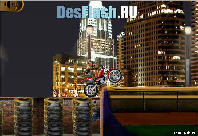 Мощный мотоцикл игра