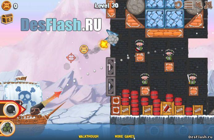Стрелялка на корабле онлайн: Fort Blaster