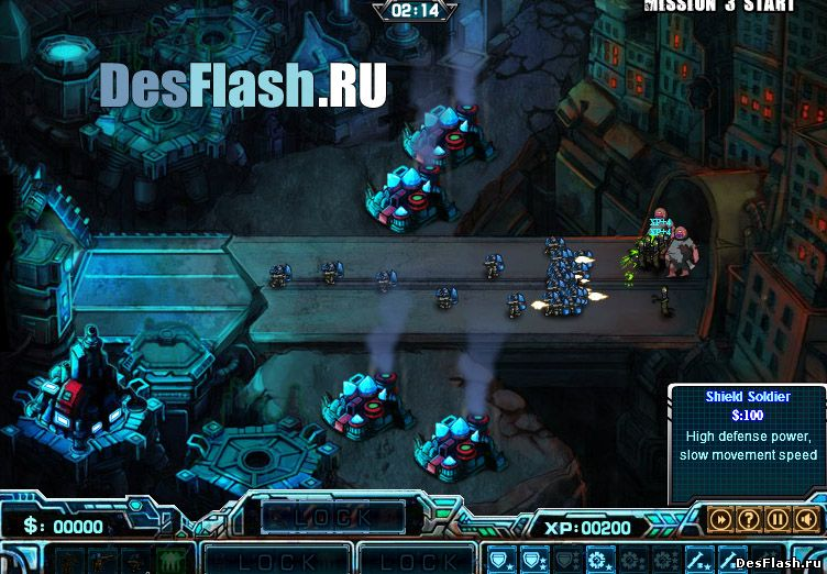 Роботы против зомби играть
