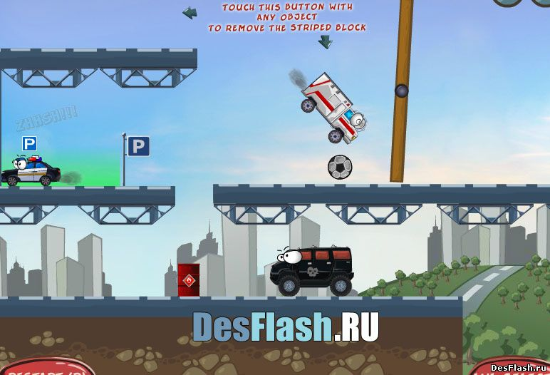 Играть в Vehicles Level Pack