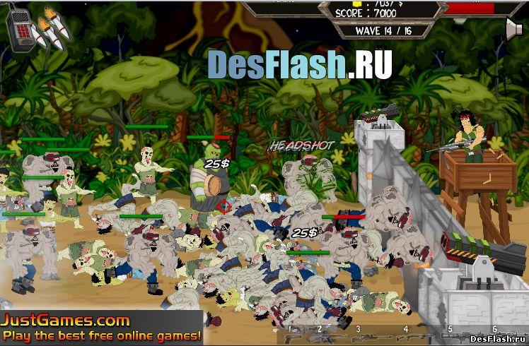 Остров нежити играть. Undead's Island онлайн