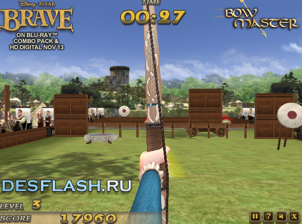 Онлайн игра Стрельба из лука