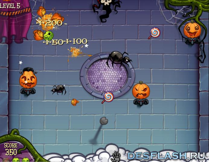 Онлайн игра на Хэллоуин