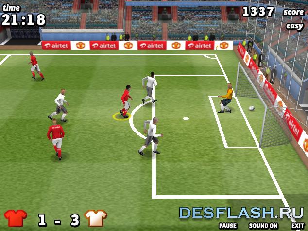 Футбол 3D онлайн