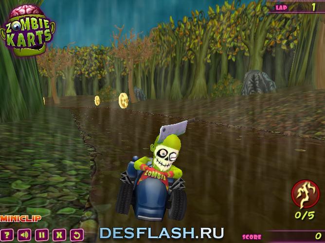 3D картинг онлайн играть