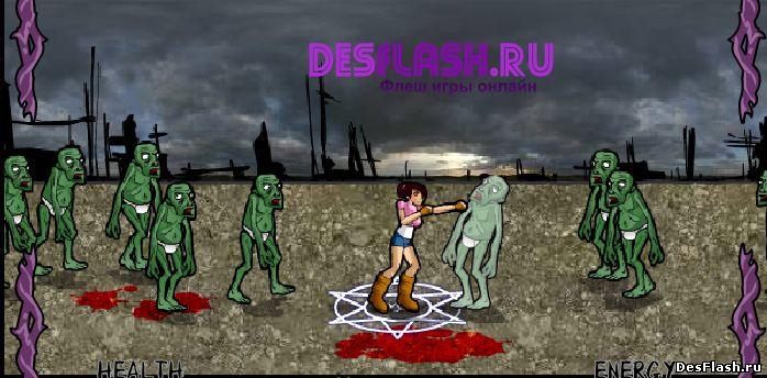 Флеш игра Победить дьявола