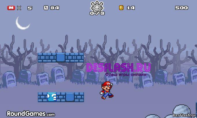 Mario Star Scramble 2: Ghost Island.  Марио Стар Скрэмбл 2: Призрачный Остров