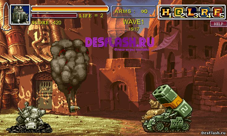 Metal Slug: Death Defense. Смертельная оборона