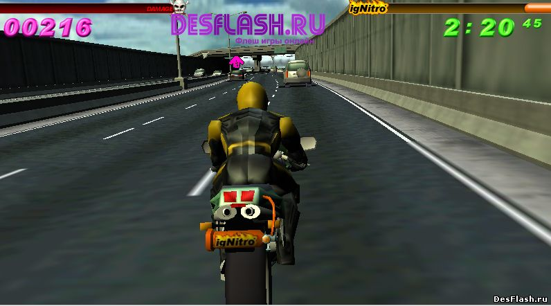 Играть в Redline Rumble 3