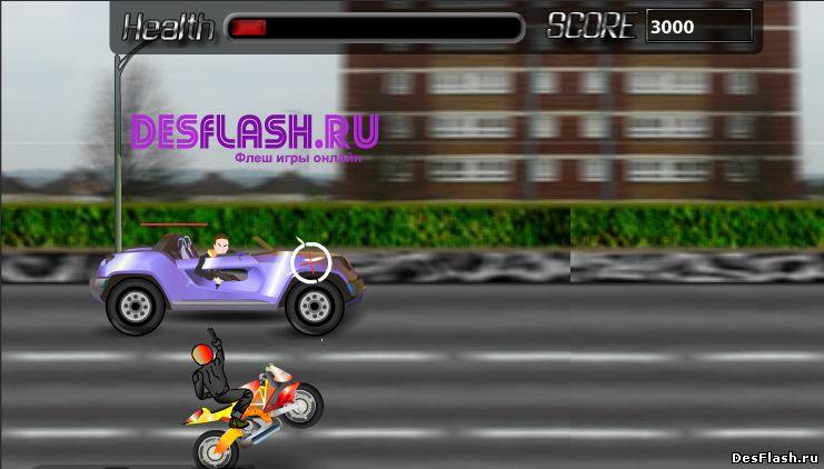 Киллер на мотоцикле. Koffii Roadster