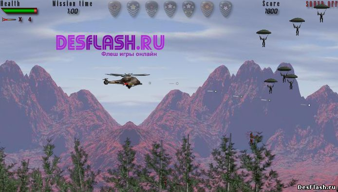 Chopper Assault. Нападающий вертолет