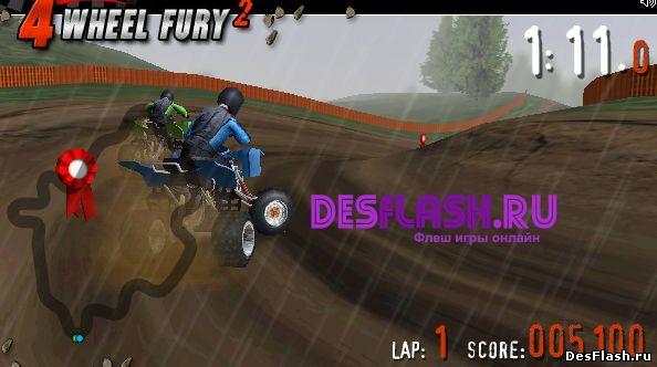4 Wheel Fury - 2 . Яростные 4 колеса - 2