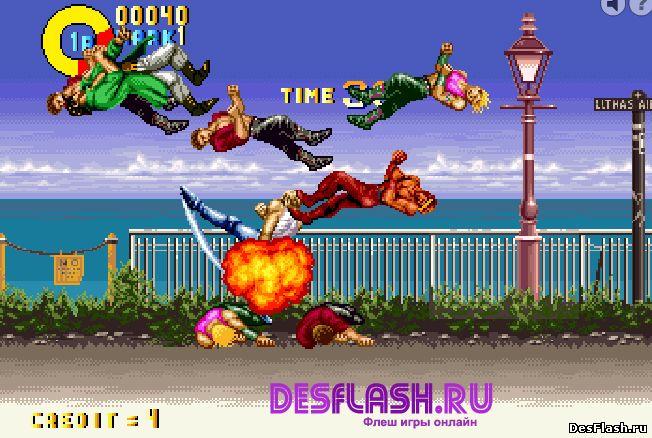 Karate Blazers. Уличный файтинг
