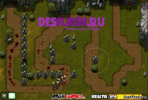 Защити башню онлайн игра