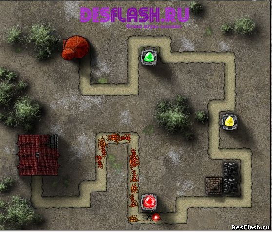 Гемкрафт игра. GemCraft