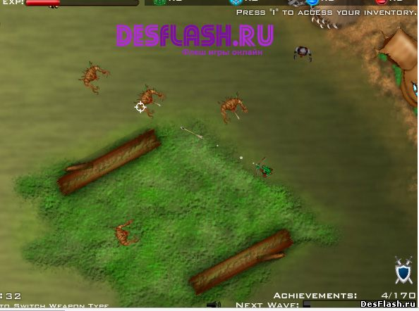 Убивать монстров из лука: Medieval Rampage 2