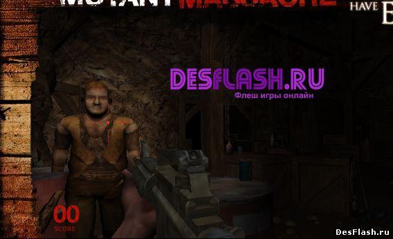 Уничтожать и убивать мутантов. Mutant Massacre