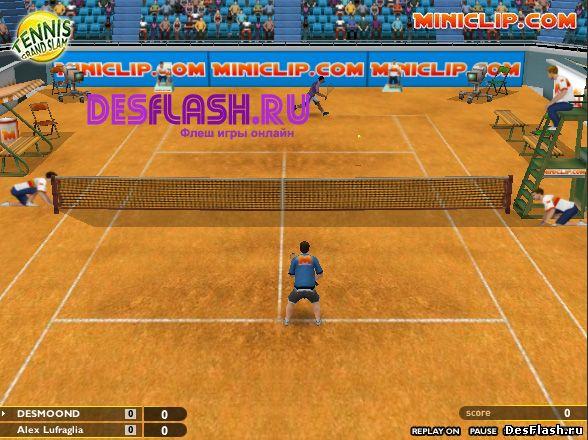 3D теннис играть онлайн