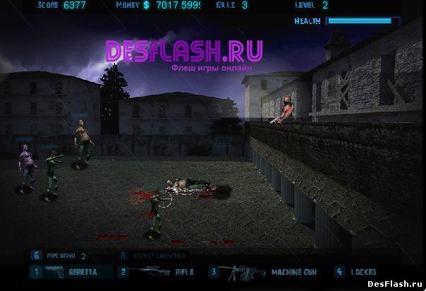 Zombie Mayhem Assassin 3D. Убийца натиска зомби